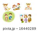 イラスト素材セット 秋 16440289