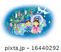七夕祭り 七夕飾り 織姫のイラスト 16440292