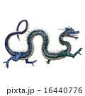 辰 干支 ドラゴンのイラスト 16440776