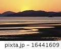 夕景 新舞子浜 海岸の写真 16441609