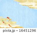 和紙 背景 和柄のイラスト 16451296
