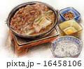フードイラスト~牛すき焼き 16458106