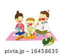 ピクニック お弁当 家族のイラスト 16458635