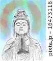 仏像のイラスト 16473116