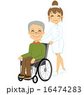 Senior Patient Wheelchair 16474283