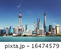 Shanghai skyline in sunny day, China 16474579