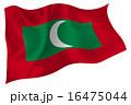 モルディブ  国旗 旗  16475044