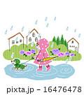 梅雨のお散歩 16476478