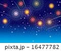 花火の夜空 16477782
