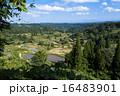 星峠 風景 段々畑の写真 16483901