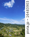 星峠 風景 段々畑の写真 16483903