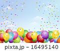 風船 背景 festival background with balloons 16495140