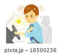 ドライバー 熱中症 ビジネスマンのイラスト 16500236