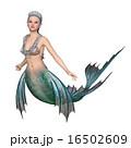 人魚 マーメイド 泳ぐのイラスト 16502609