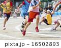 運動会イメージ(リレー) 16502893