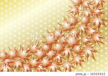 葉枯れ葉秋秋日晩秋落ち葉落葉紅葉和風日本風伝統江戸京都