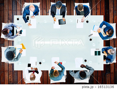 Business People Corporate Working Office Team Professional Conce