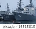 イージス護衛艦きりしまと護衛艦たかなみ 16515615