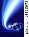 グローバル 光 背景のイラスト 16516972