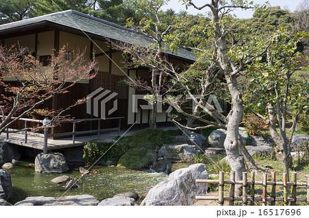 花博記念公園鶴見緑地の日本庭園 16517696