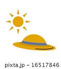 紫外線 紫外線対策 太陽のイラスト 16517846