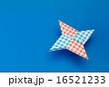 手裏剣の折り紙 16521233