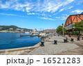 長崎 出島ワーフ 青空の写真 16521283