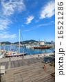 長崎 出島ワーフ 青空の写真 16521286