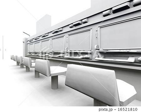 白いパチンコ店 16521810