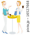 ベクター コーヒー カフェのイラスト 16527668