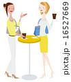 ベクター コーヒー カフェのイラスト 16527669