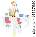 働く女性 16527680
