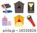 停電,ブレーカーカット,アイコン6種セット 16530828