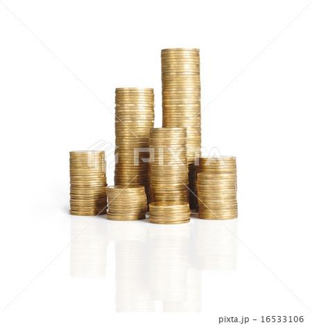 coin stackの写真素材 [16533106] - PIXTA