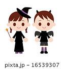 魔法使い 悪魔 ベクターのイラスト 16539307