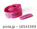 ピンク色のパーティーチケット 16543369