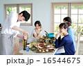 オーガニックフードランチ ホームパーティー 16544675