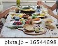 オーガニックフードランチ ホームパーティー 16544698