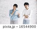 店員イメージ、男性ポートレート 16544900