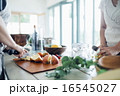 ホームパーティ、食事 16545027