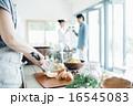 ホームパーティ、食事 16545083