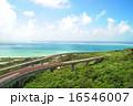 ニライカナイ橋 青空 海の写真 16546007