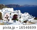 南欧ギリシャ・サントリーニ島の風景 16546699