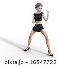 ビューティーアンドロイド perming 3DCG イラスト素材 16547726