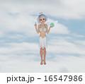 CG 可愛い 3Dのイラスト 16547986