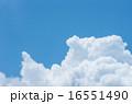 青空と入道雲 16551490