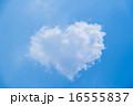 ハート型の雲 16555837