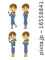 大学生 ベクター バリエーションのイラスト 16558841
