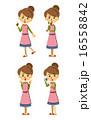ベクター バリエーション 主婦のイラスト 16558842
