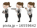 飲食店 バー 女性 ポーズ 16559642